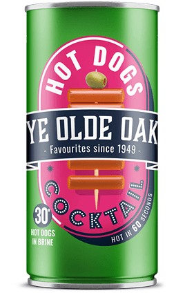 Ye Olde Oak Cocktail Hot Dogs 560g can