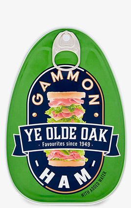 Ye Olde Oak Gammon Ham 325g can